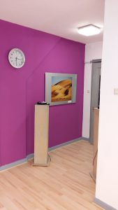 Der Eingangsbereich unseres Tanzstudios