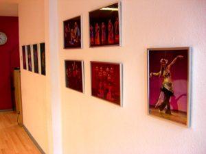 Tanzstudio Bilderwand