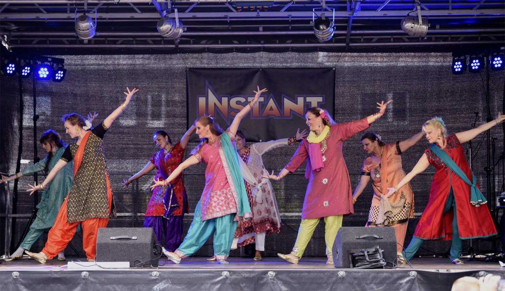 Bollywood Projektgruppe Nachbarschaftsfest