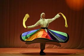 Derwischtanz - Drehtanz im Tanzstudio
