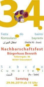 19. Internationales Nachbarschaftsfest Bürgerhaus Benrath