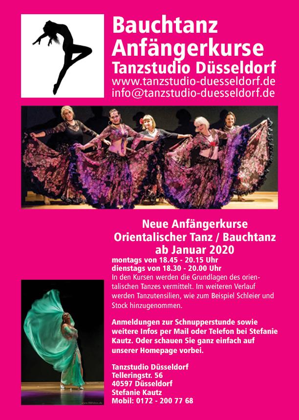 Neue Tanzkurse orientalischer Tanz / Bauchtanz