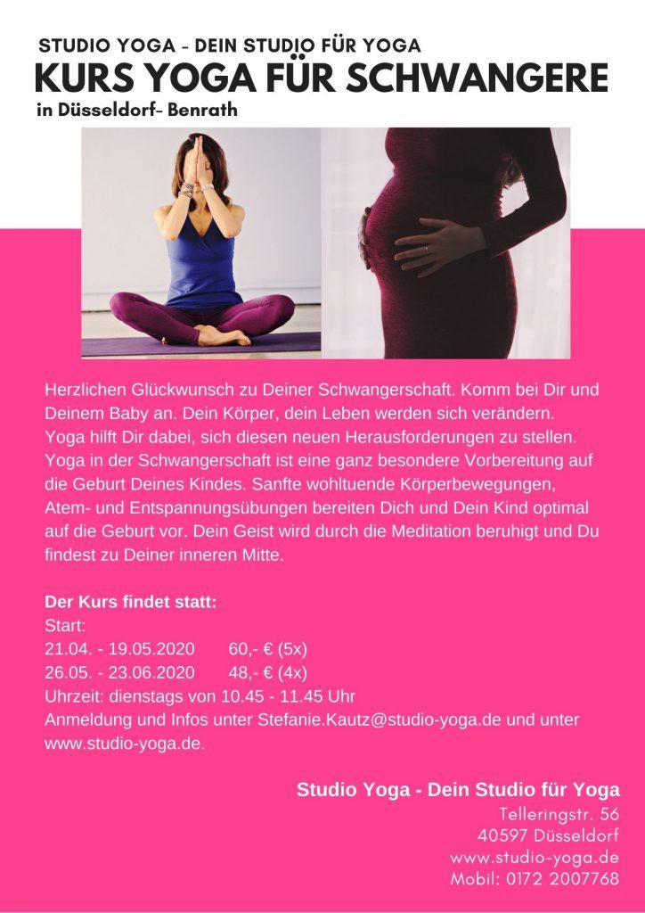 Kurs Yoga in der Schwangerschaft