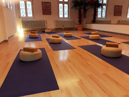 Yoga im Studio