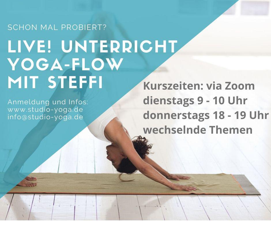 Live! Yoga mit Steffi
