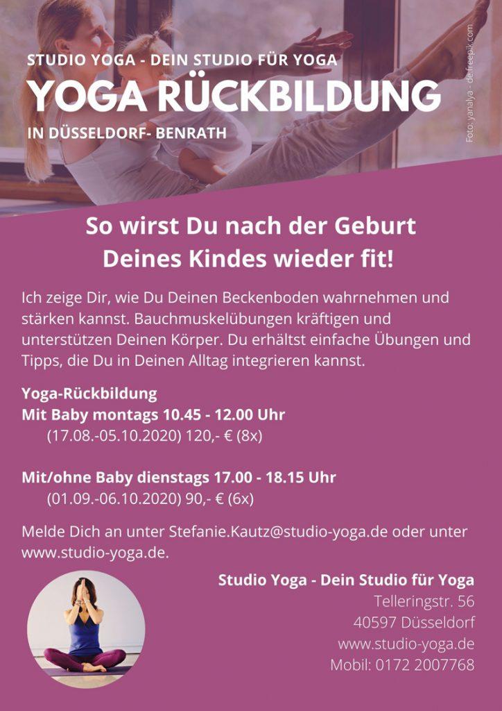 Yoga Rückbildungskurs
